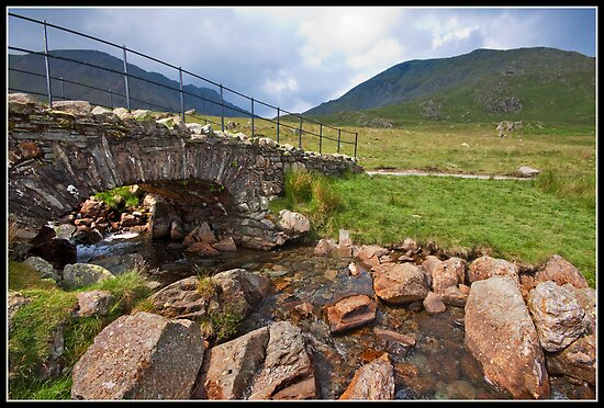 Bridge below The Old Man of Coniston by Shaun Whiteman