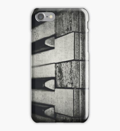 These Worn Tunes in Black and White iPhone Case/Skin