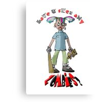 Have you seen any Zombies? Canvas Print