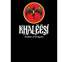 Khaleesi Rum (black) Photographic Print