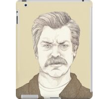 It's Ron Swanson iPad Case/Skin