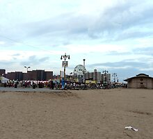 CONEY ISLAND - LET'S GIVE 'EM SOMETHING TO TALK ABOUT by KENDALL EUTEMEY