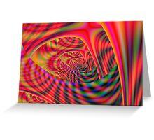 Burning Labyrinth Greeting Card