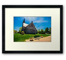 UMass Amherst Chapel  Framed Print