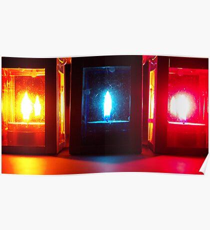 3 lanterns Poster