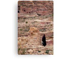 Local arab woman in Jordan Canvas Print