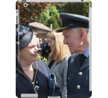 The Mayor of Bromley's Civic Service was held at St George's Chapel, Biggin Hill, to celebrate his year of office and to commemorate the 70th Anniversary of VE Day which ended WWll in Europe iPad Case/Skin