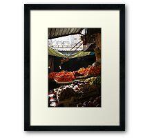 Fruit and Veges Framed Print