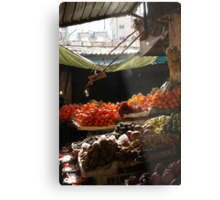 Fruit and Veges Metal Print