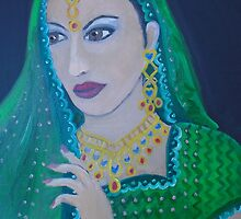 Indian Bride by Cheryl Olver