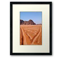 Wadi Rum, Jordan Framed Print