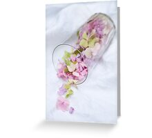 A Glass Half Full Greeting Card