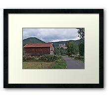 Saint-Bertrand-de-Comminges Framed Print