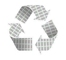 Recycle Newspaper Symbol by MarkUK97