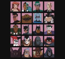 Heroes & Villains  Batman: the Animated Series T-Shirt