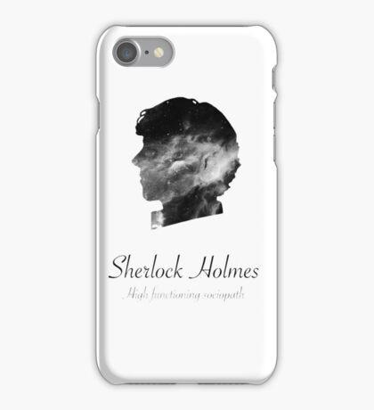 Sherlock Holmes, high functioning sociopath iPhone Case/Skin