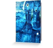 blue souls Greeting Card