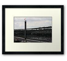 The Front Stretch Framed Print