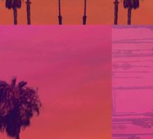 Santa Monica Palms Patch Sticker