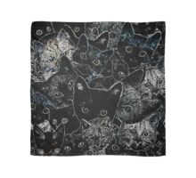 Kitty Cat Art Scarf