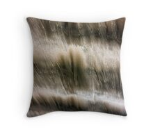Sand in Motion Throw Pillow