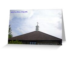 God of our Fathers Greeting Card