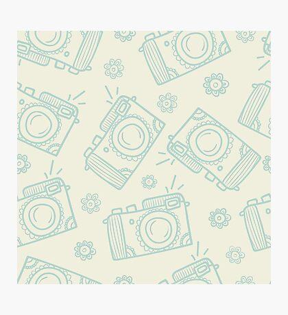 Vintage camera Photographic Print