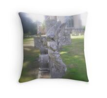 'Guarding angel' Throw Pillow