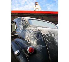 Americana • Lasalle at Becky's Burgers, Orofino Idaho Photographic Print