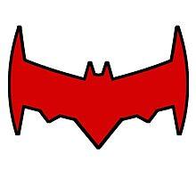 Red Hood Post Convergence Symbol by gentilj17