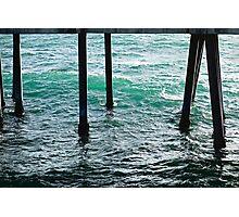 Redondo Beach Pier Legs  Photographic Print