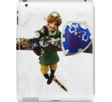legend of zelda link snow figma iPad Case/Skin