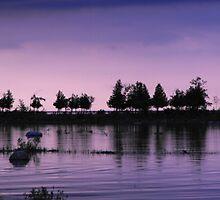 Twilight Hour by Les Wazny