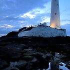 St Mary's Lighthouse - Whitley Bay by Michael Brewis