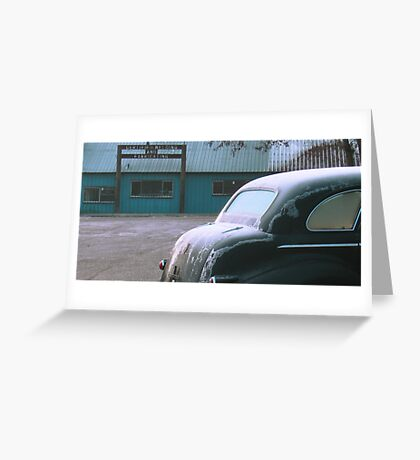 Americana • Lasalle at Orofino, Idaho Greeting Card