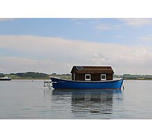 The Blue Boat House Photographic Print