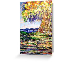 TREE IN THE MIDST Greeting Card