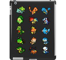 Pixel Pokemon Starters iPad Case/Skin