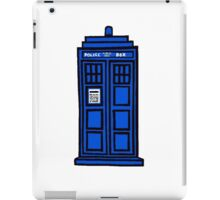 Comic-styled TARDIS iPad Case/Skin