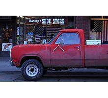 Americana • Murray's shoe store, Orofino Idaho Photographic Print