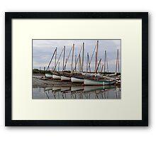Blakeney Point Moaring Framed Print