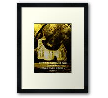 Peter The Rock Matthew 16:18 Framed Print