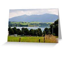 Lake Forggensee, Germany Greeting Card