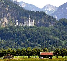 Castle Neuschwanstein - King Ludwig II - Bavaria by Daidalos
