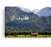 Castle Neuschwanstein - King Ludwig II - Bavaria Canvas Print