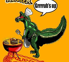 Monster Hunter Grub's up BBQ by Daveofthedead87