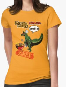 Monster Hunter Grub's up BBQ Womens Fitted T-Shirt