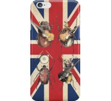 Meet the Beetles (Union Jack Option) iPhone Case/Skin