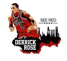 Derrick Rose - See Red by kramprusz