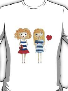 marine girls T-Shirt